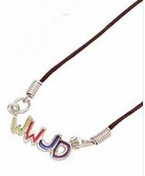 New �What Would Jesus Do�  Pendant Necklace