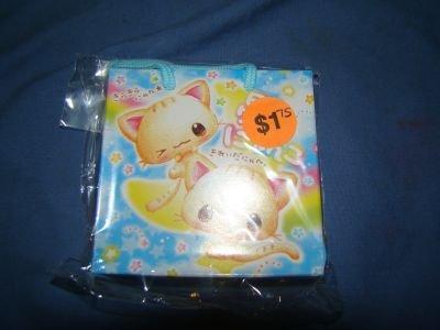 Kawaii kitty memopad w/ gift bag