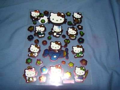 Hello Kitty sticker sheet