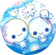 Kamio Handmade Awawa Chan die-cut stickers