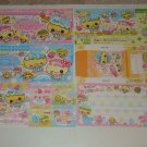Kamio Sweet Cupcakes bill style loose sheets