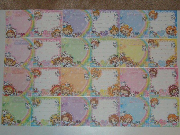 Q-lia Zodiac Kawaii girls mini memos