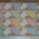 Q-lia Zodiac Kawaii girls mini memos