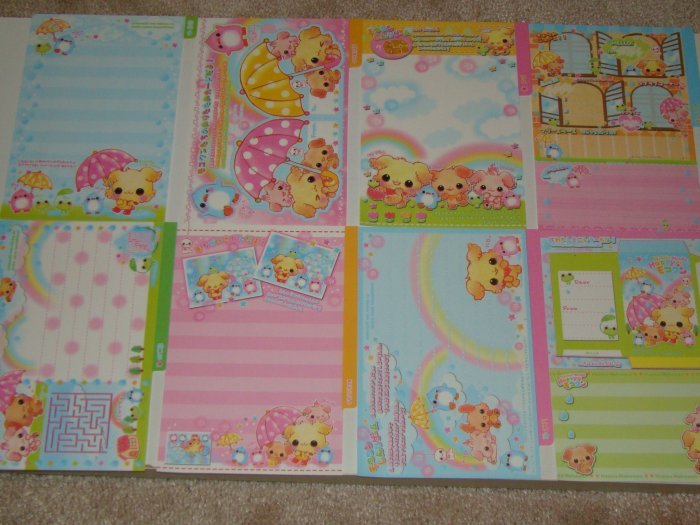 Kamio Happy wanko puppy loose sheets
