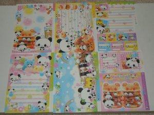 Kamio Panda Burger loose sheets