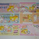 Kamio Lucky clover friends mini bill style memos