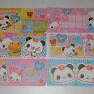 Kamio Burger Panda Chan mini bill style memos
