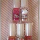 Hello Kitty PINKS 5pc Nail Polish Set