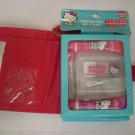 Hello Kitty Pink Cosmetic ID Case W/ Make-up