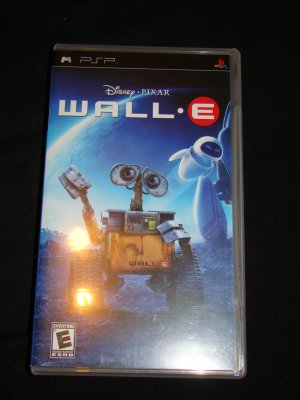 Wall-E The Video Game For PSP