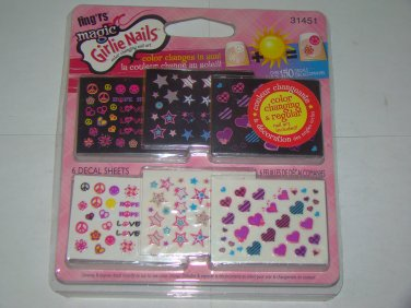 Fing'rs Magic Girlie Nails Color Changing Nail Art