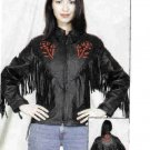 Ladies Rose Inlay Jacket (Medium)