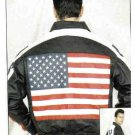 MJ275-USA Flag Jacket-(X-Small)