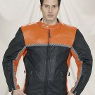 MJ702-Mens Racer Jacket-(X-Small)