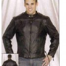 MJ711-Mens Racer Jacket-(X-Large)
