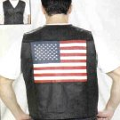 Mens USA Flag Vest  (Small)