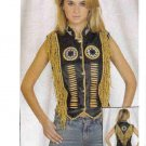 Ladies Vest with beads (Small)