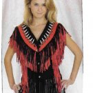 Ladies Vest with beads (Large)