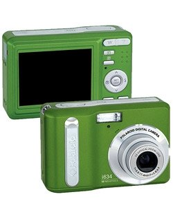 Polaroid i634 Lime Green 6.0MP Digital Camera