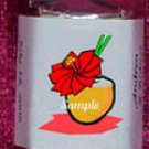 150 BEACH LUAU PARTY Candy custom Wrappers Favors