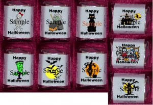 150 HALLOWEEN BIRTHDAY PARTY Candy Wrappers Favors