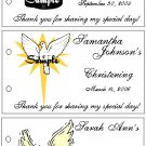 BAPTISM COMMUNION CHRISTENING Party Lollipop suckers Favors Tags