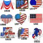 150 WELCOME HOME PARTY Candy Labels Wrappers Favors Military USA