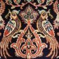 "RARE "" PEACOCKS GOOD FORTUNE"" silk  1600 KPSI"
