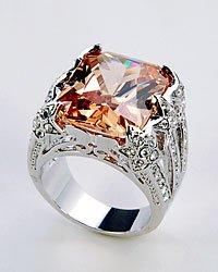 Champaigne Cubic Zirconia Ring