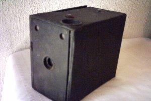 ANTIQUE EASTMAN KODAK No 2A CARTRIDGE PREMO BLACK BOX CAMERA