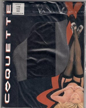 Coquette Style 1706 Sheer Stockings Thigh High O/S
