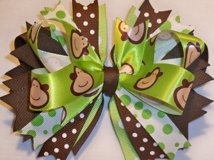 Boutique Monkey Hair Bow