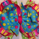 Boutique Flip Flop Summertime Hair Bow