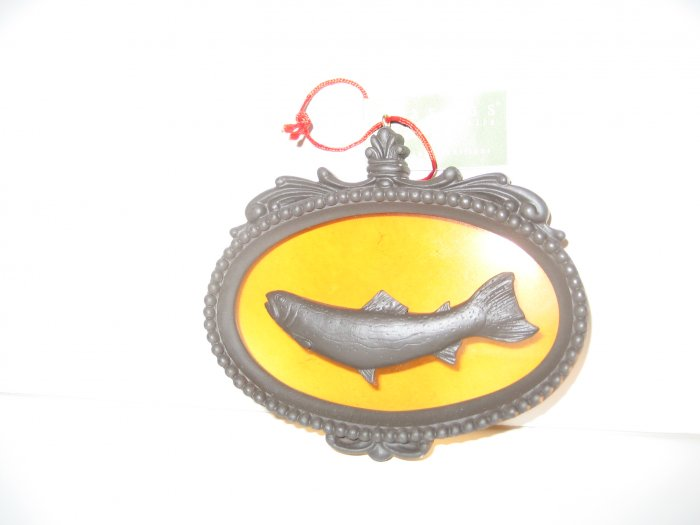 Fish Ornament - Glass & Acrylic - Seasons of Cannon Falls