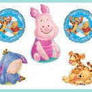 Winnie the Pooh It's a Boy baby shower balloon set