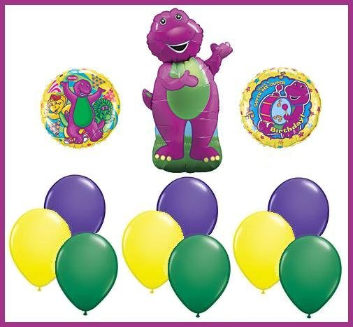 Barney birthday balloon set BJ Baby Bop party supplies