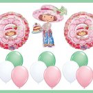 Strawberry Shortcake Birthday Balloon Kit - supplies