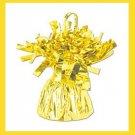 Yellow Foil Balloon Weight birthday party supplies 6oz.