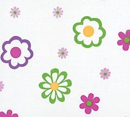 Flower patterned cello sheets gift bag wrap supplies