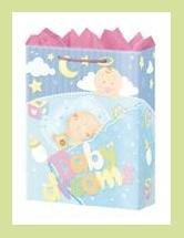 Baby Dreams shower gift bag - wrap/supplies/decorations