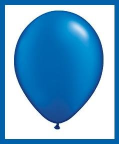 Sapphire Blue latex balloons party supplies decorations