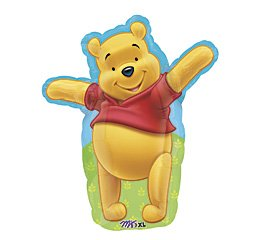 Winnie the Pooh birthday party balloon supplies