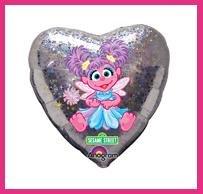 Abby Cadabby party balloon supplies - Sesame Street