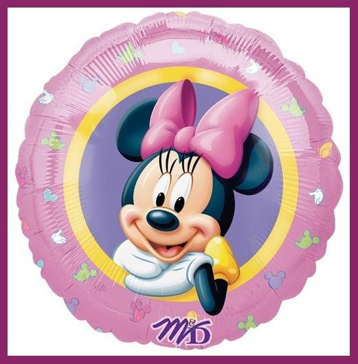 Minnie Mouse Party Balloon-Disney-supplies/decorations