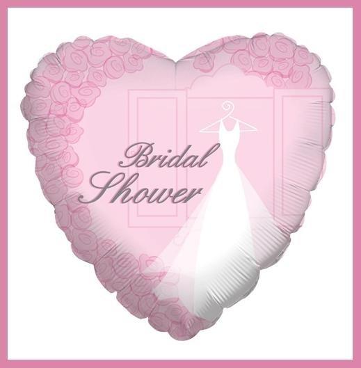 Bridal Shower Balloon Pink heart supplies decorations