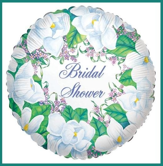 Magnolia Bridal Shower party balloon-supplies decorations