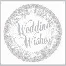 Wedding Wishes Wedding/Bridal Shower Party Balloon