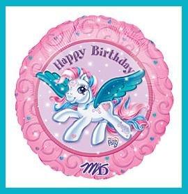 My Little Pony 18 Happy Birthday Mylar balloon supplies