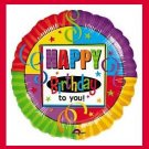 Happy Birthday To You-foil mylar party balloon supplies