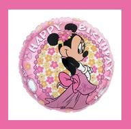 Minnie Mouse Mylar Birthday Balloon party supplies